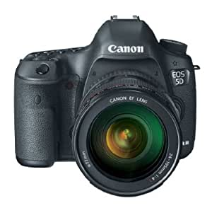 Canon EOS 5D Mark 3 22.3MP Digital SLR Camera with...