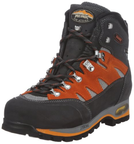Meindl Air Revolution 3.1 601997, Scarpe da trekking uomo, Grigio (Grau (graphit/orange)), 39.5