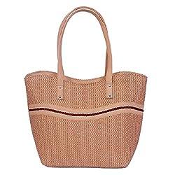Womaniya Women's Handbag Brown Woman-1129