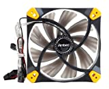 Antec Truequiet 120mm Case Fan with Silicone Grommets to Reduce Turbulence and Noise