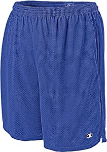 Champion Men's Long Mesh Short With Pockets, Surf The Web, X-Large