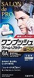 サロンドプロ ワンプッシュクリームヘアカラー メンズスピーディ 6A 40g+40g