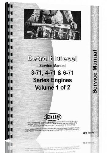 Detroit Diesel In Line 3-71, 4-71, 6-71 Service Manual (Detroit Diesel Service Manual compare prices)