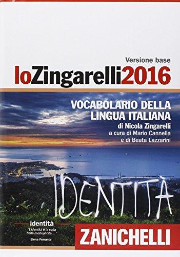 Lo Zingarelli 2016 Vocabolario della lingua italiana Con aggiornamento online PDF