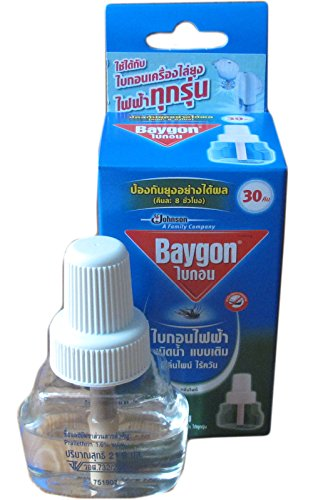 1 X Refillable Protector Raid Mosquito Baygon Electric Liquid Type On Sell With Complementary