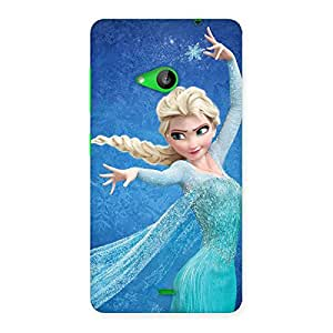 Ajay Enterprises Ft Animated Frozings Back Case Cover for Lumia 535