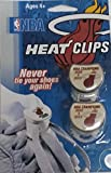 NBA Miami Heat B2B Champs 2012 and 2013 Back-to-Back Champions Lace Clips Shoelace Locks, White, Regular