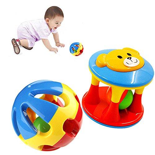 [New Cute Handbells Musical Developmental Toy Bed Bells Kids Baby Toys Rattle] (Doc Mcstuffins Costume Toys R Us)