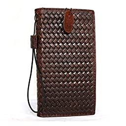 Genuine Italian Oiled Cow Leather Case for Iphone 6 6s Book 4.7 Inch Wallet Handmade Slim S Luxury Handtec