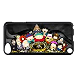 img - for Cartoon South Park Hard Case Cover Skin for iPod Touch 5 5G 5th Generation- 1 Pack - Black/White - 1-Perfect Gift for Christmas book / textbook / text book