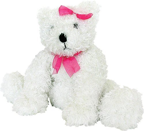 Melissa and Doug Cuddly White Bear- Plush