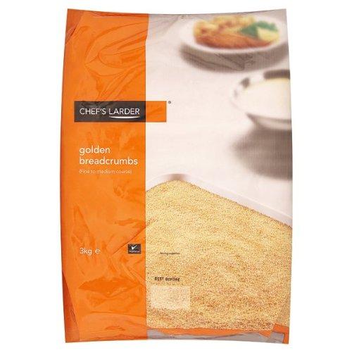 Chefs Larder Golden Breadcrumbs 3kg Bag