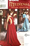 OOP Simplicity Medieval Costume Pattern 8725. Misses Szs 10,12,14 Dress & Overdress Costumes