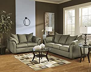 Darcy Sage Living Room Set Living Room Furniture Sets