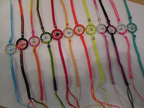 12 Dreamcatcher Friendships from Peru Handmade -Item in USA