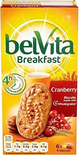Belvita Breakfast Biscuits - Cranberry (6X50G)