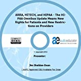img - for ARRA, HITECH, and HIPAA -- The HIPAA Omnibus Update Means New Rights for Patients and New Restrictions on Providers book / textbook / text book