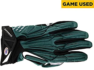 Vinny Curry Philadelphia Eagles Game-Used Green Nike Left Glove vs Tampa Bay Buccaneers on November 22, 2015 - Fanatics Authentic Certified