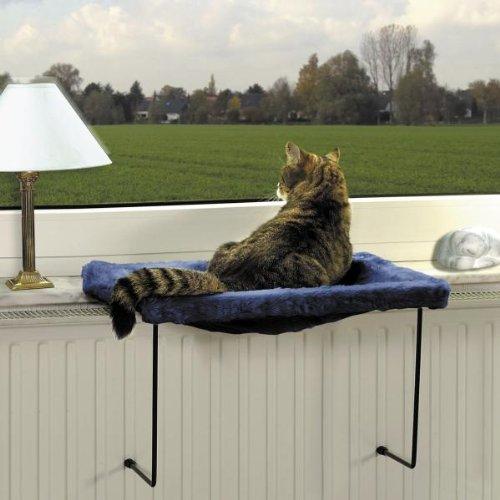 Lit pour chat kitty rama pour rebord de fen tre 40 x 50 cm for Fenetre 50 x 75