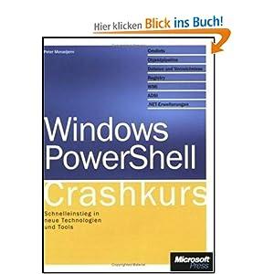 eBook Cover für  Windows PowerShell Crashkurs