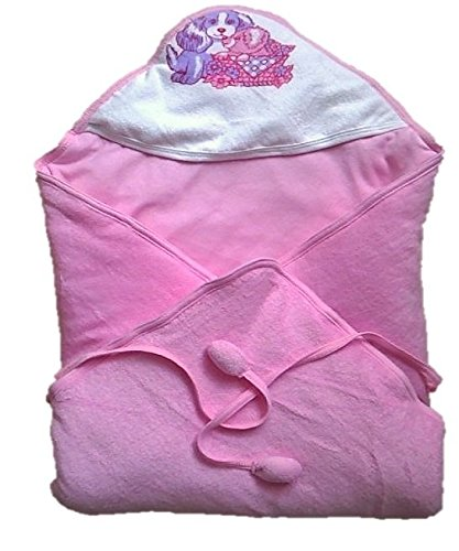 Tiny Care Hooded Cherry Wrapper Pink