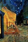 Cafe Terrace at Night Vincent Van Gogh Poster Art Print