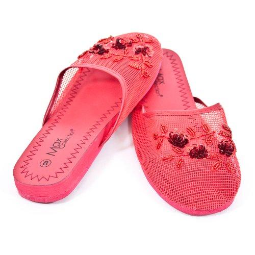 Cheap Mesh Slippers – Red (B00354YK9K)
