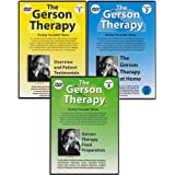 """The Gerson Therapy: Healing """"Incurable"""" Illness DVD (Vol. 1: Overview and Patient Testimonials, Vol. 2: The Gerson Therapy at Home, Vol. 3: Gerson Therapy Food Preparation) ~ Charlotte Gerson"""