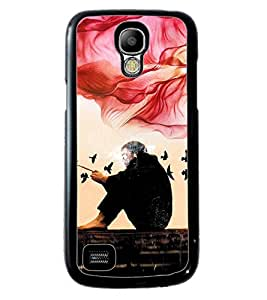PRINTVISA Idel Premium Metallic Insert Back Case Cover for Samsung Galaxy S4 Mini - D5689