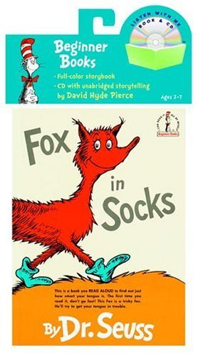 Fox in Socks Book & CD (Book and CD) by Dr. Seuss (2005-01-05)