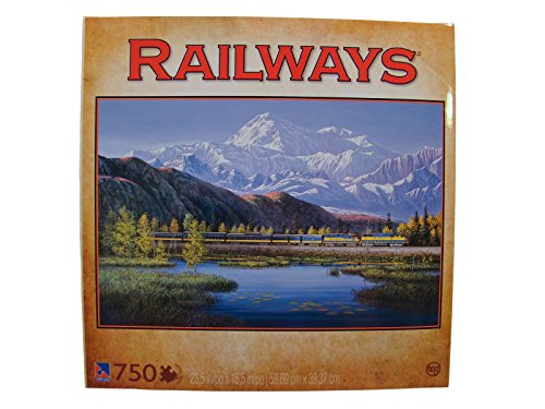Railways 750 Piece Jigsaw Puzzle: On a Clear Day
