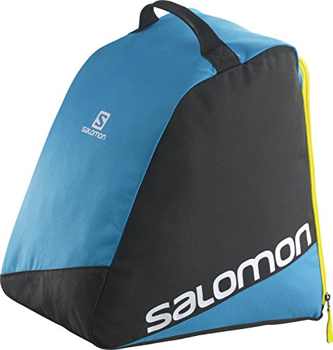 "Salomon, Giacca per scarponi da sci ""Original Boot Bag"", Nero (Black /Blue), 39 cm"