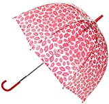 Lulu Guinness by Fulton Lulu Birdcage 2 Red Lips Women's Umbrella Red Lips