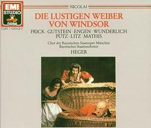 Nicolai: Die lustigen Weiber von Windsor (Gesamtaufnahme).