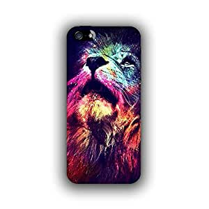 Caseque (Pro) Urbane Lion Back Cover for Apple iPhone 5S