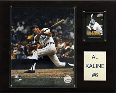 MLB Al Kaline Detroit Tigers Player Plaque