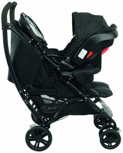 Graco Mosaic Travel System Sport Luxe (Black, 0 - 36 Months)