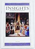 img - for Insights: The Faculty Journal of Austin Seminary, Volume 117 Number 1, Fall 2001 book / textbook / text book