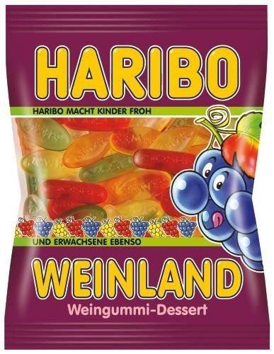 Haribo Weinland Weingummi 200g