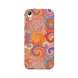 ArtzFolio Grunge Swirls : HTC Desire 626 / 626G+ Matte Polycarbonate ORIGINAL BRANDED Mobile Cell Phone Protective BACK CASE COVER Protector : BEST DESIGNER Hard Shockproof Scratch-Proof Accessories