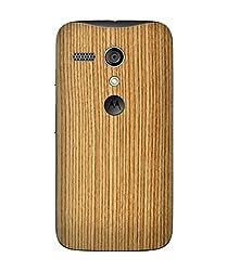 dbrand Bamboo Wood Back Mobile Skin for Moto G 2013