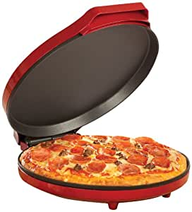Sensio Bella 13588 12-Inch Pizza Maker, Red