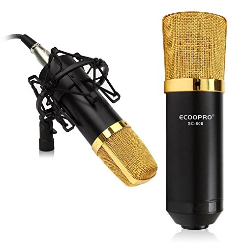 ECOOPRO-35mm-Plug-Condenser-Recording-Microphone-Mic-Shock-Mount-Noise-Cancelling-Ideal-for-Recording-Broadcasting-Vocal