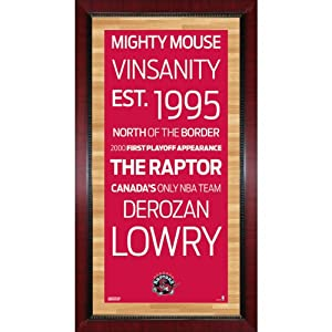 Toronto Raptors Subway Sign Wall Art 16x32 Photo by Steiner Sports