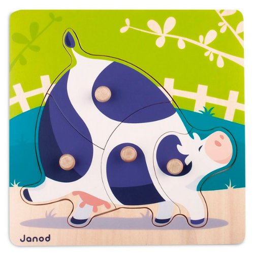Janod Cow Puzzle - 1