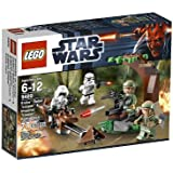 LEGO Star Wars Endor Rebel Trooper and Imperial Trooper 9489