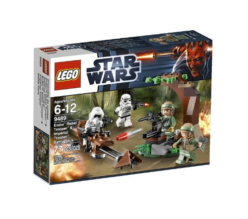 LEGO Star Wars Endor Rebel Trooper and Imperial Trooper 9489 (Star Wars Rebels Imperial compare prices)