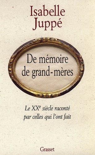 De mémoire de grand-mères (essai français)