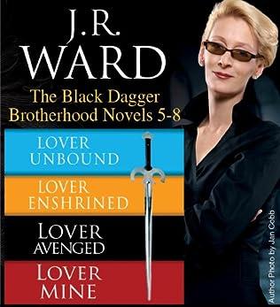 book cover of J.R. Ward The Black Dagger Brotherhood Novels 5-8