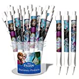 National Design Disney Frozen Full Color Grip Pens (12Pack)